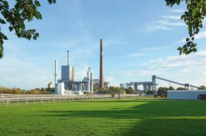 Rheinberg plant, view over the east part of the plant